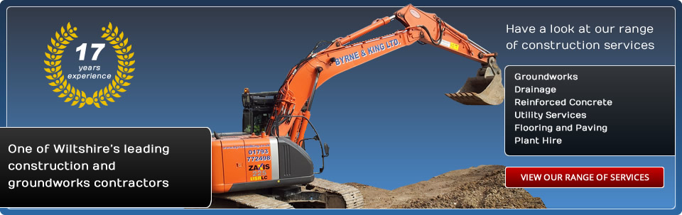 View our range of construction services